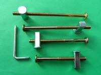 Bed Bolts HEAVY DUTY M8. /Replacement/Fixing Kits. 8mm /Square end/Block Nuts. Metal Beds/Bunks